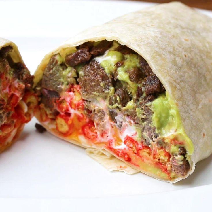 Hot Cheeto Burrito Recipe by Tasty