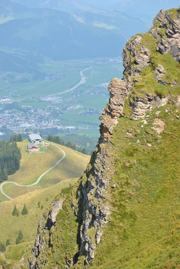 Vandreturen (for øvede) fra #Harschbichl (St. Johann in Tirol) til Kitzbüheler Horn tog i #uge35_2013 en times tid