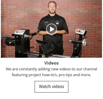 Woodturning Videos from Craft Supplies USA --- Enjoy learning the art of woodturning on our blog. We offer articles, videos and news from the woodturning world. #woodturning #videos #how-to #articles #blog