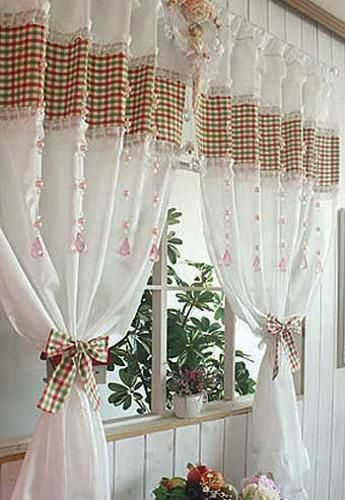 Creative Kitchen Window Treatments Hgtv Pictures Ideas: 302 Best Images About FIRANY KUCHNIA 4 On Pinterest
