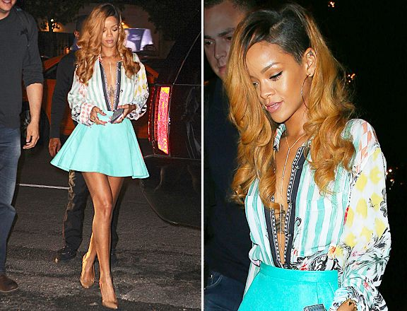 Rihanna in New York on May 8. Photo: Getty Images. If there's one thing we know about Rihanna, it's that she LOVES breaking the rules (I mean, her Instagram name isn't BadGalRiRi for nothin'), and last night was no exception. http://sulia.com/my_thoughts/b09359b0e20f2be9a825c1c3c29fb8c1/?pinner=58049091