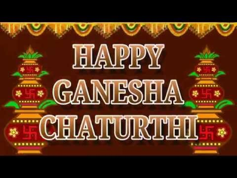 Ganesh Chaturthi Wishes,Happy Ganesh Chaturthi 2016,Animation,Whatsapp Video,Greetings,Ecard - YouTube