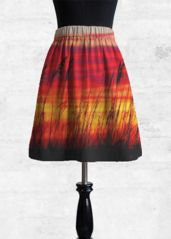 Cupro Skirt - Summertime Cupro Skirt by VIDA VIDA Discount For Cheap Clearance 100% Guaranteed qcoeva