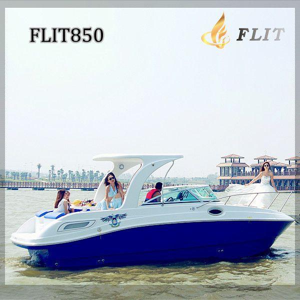Cabin cruiser yacht 8.5m 28FT sport cruiser 260hp new fashion