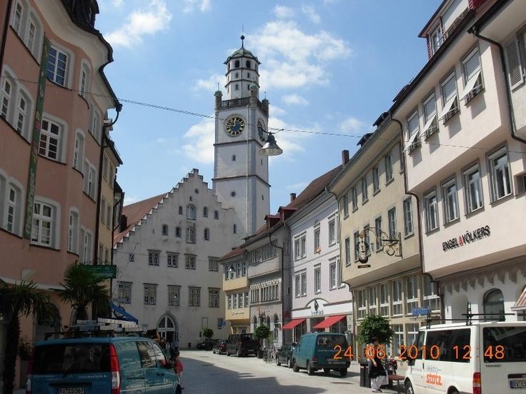 Ravensburg, Germany The town where my dad grew up