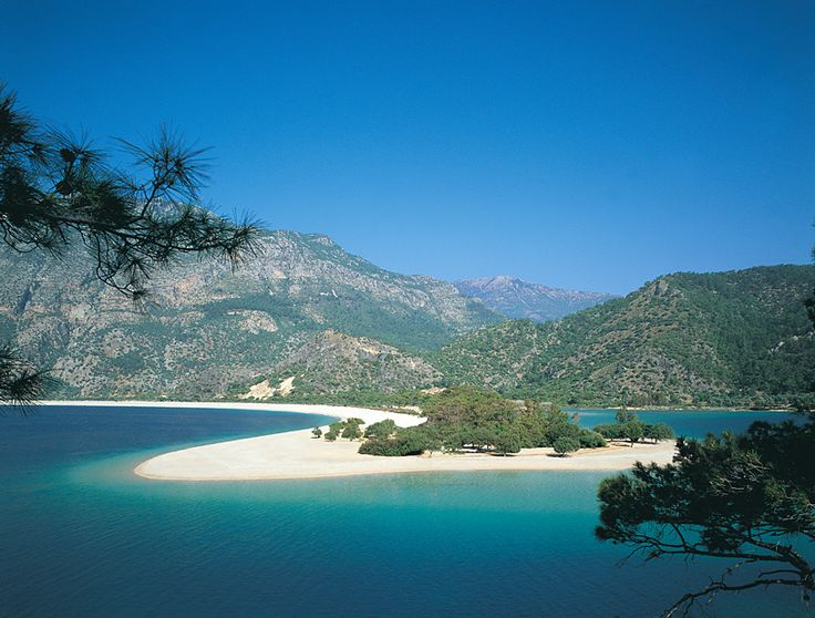 Olu Deniz beach is one of the most beautiful - and most photographed - beaches on the Turquoise Coast.