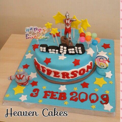 Ultraman bday cake #ultraman  #heavencake #heavencakehouse.com