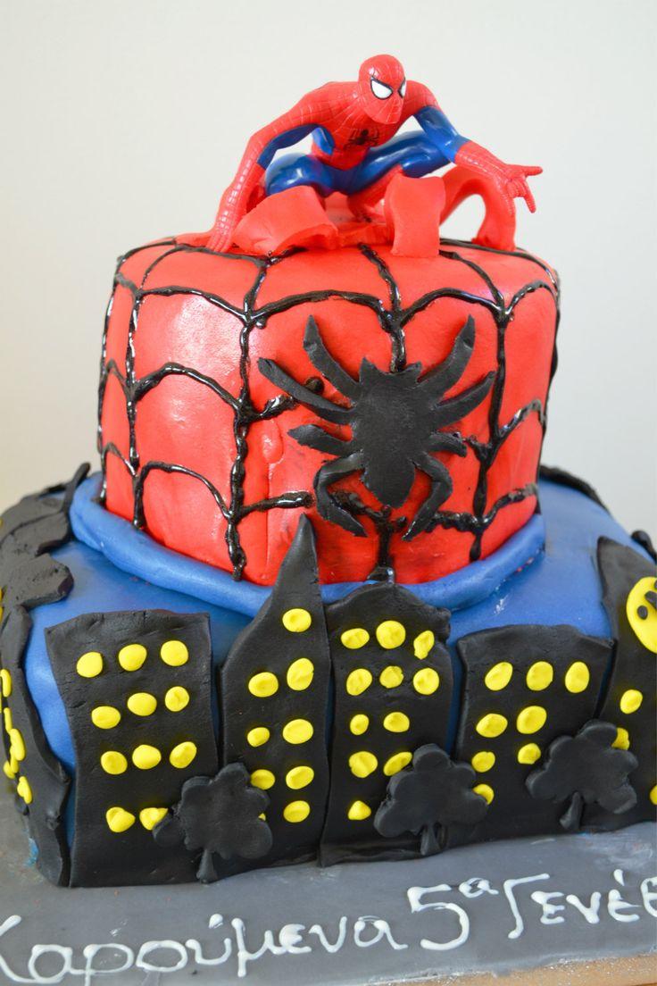 Τούρτα Spiderman - Craft Cook Love