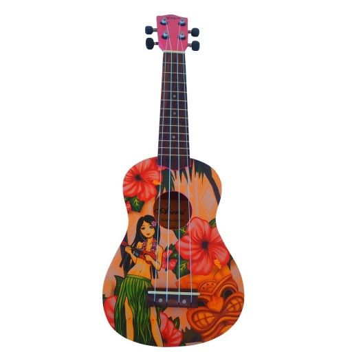 Hula Girl Ukulele - Soprano Size $60