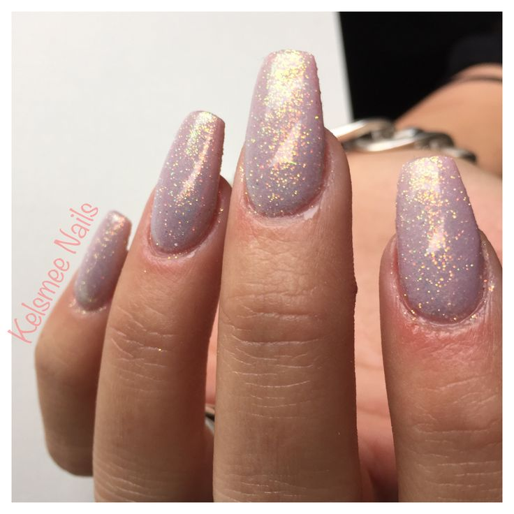 Glitterpress in gelpolish