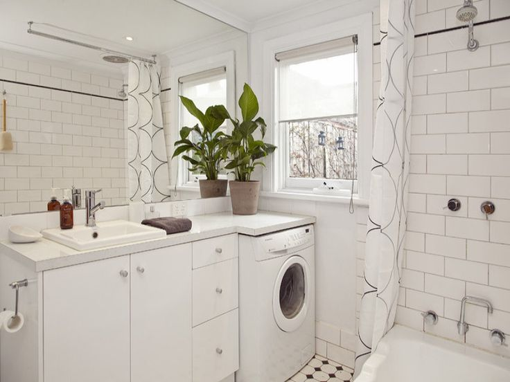 Bathroom Design With Laundry : Best ideas about bath laundry combo on