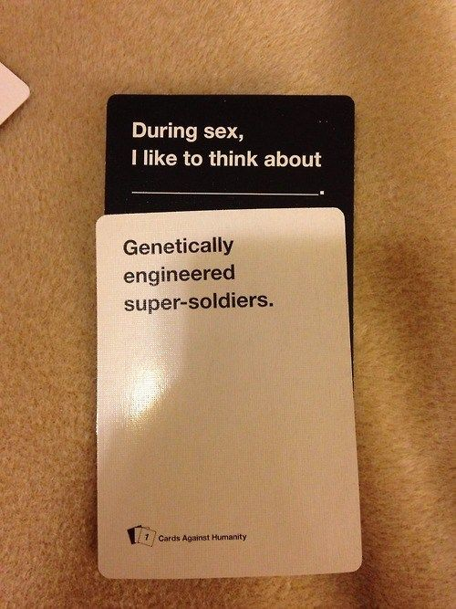 Cards Against Humanity Knows Your Marvel Fantasy