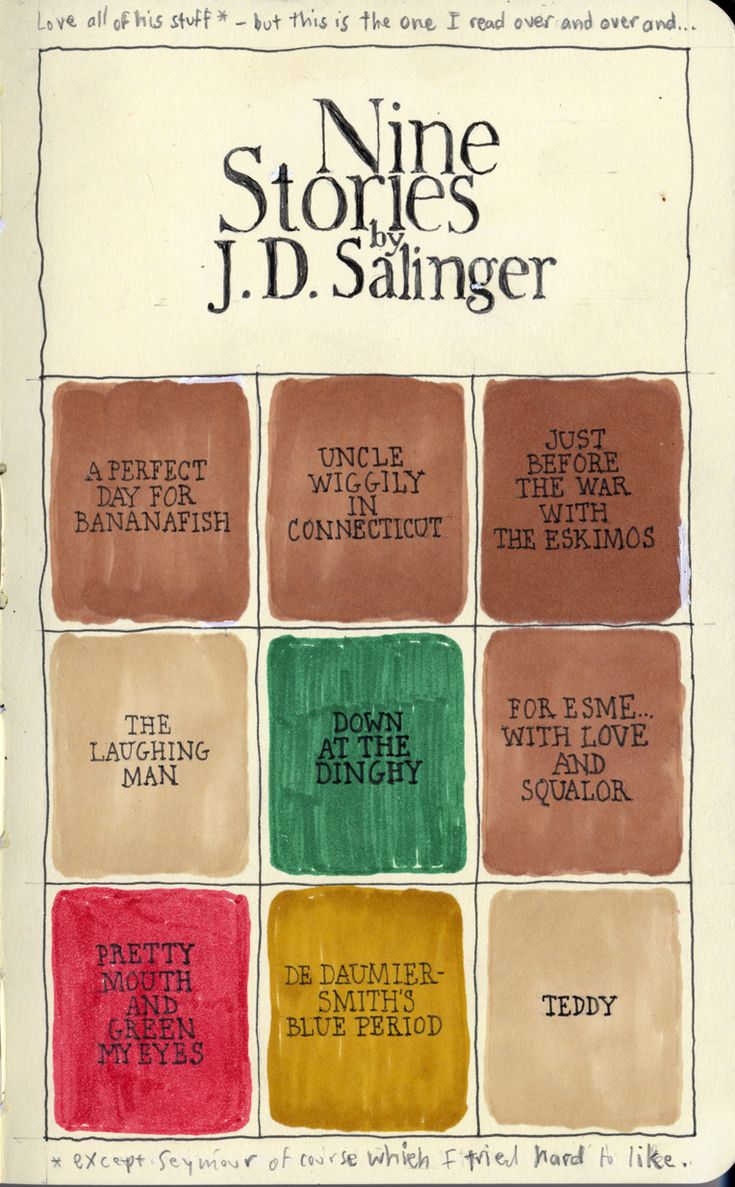 a summary of a perfect day for bananafish by jd salinger A perfect day for a bananafish by jd salinger directed by nick risher this is an old project i did and i'm finally putting it up staring true blood's lind.