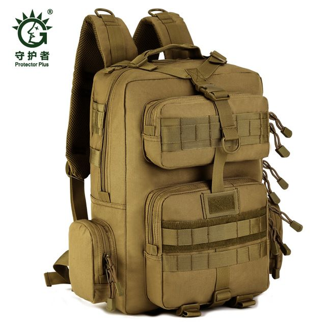 Check current price Outdoor 30 L Sport Climbing Camping school hard bag  shoulder bagTrekking Molle travel Bags Military Tactical Backpack just only $38.99 with free shipping worldwide  #sportsbags Plese click on picture to see our special price for you