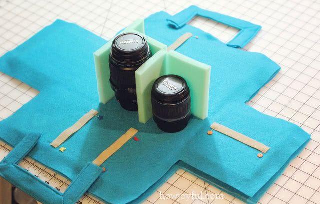 Como improvisar bolsos para cámara