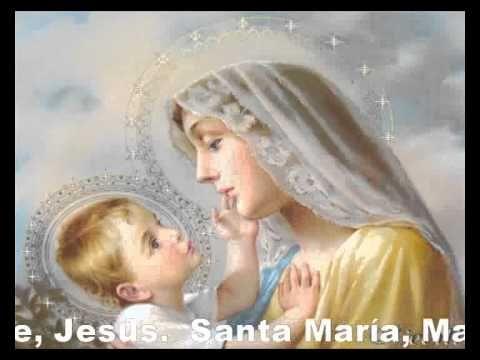 """..""""misterios gozosos"""" (lunes y jueves) Santo Rosario.."""