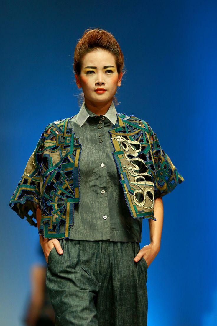 Vietnam Fashion Week SS2015 - Ready to wear. Designer: Minh Hanh. Photo: Nguyen Thanh Dat
