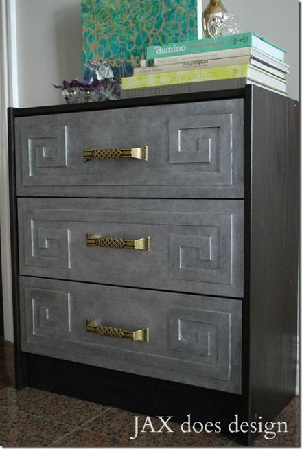 Plain Dresser Dressed Up With Overlay And Two Tone Paint