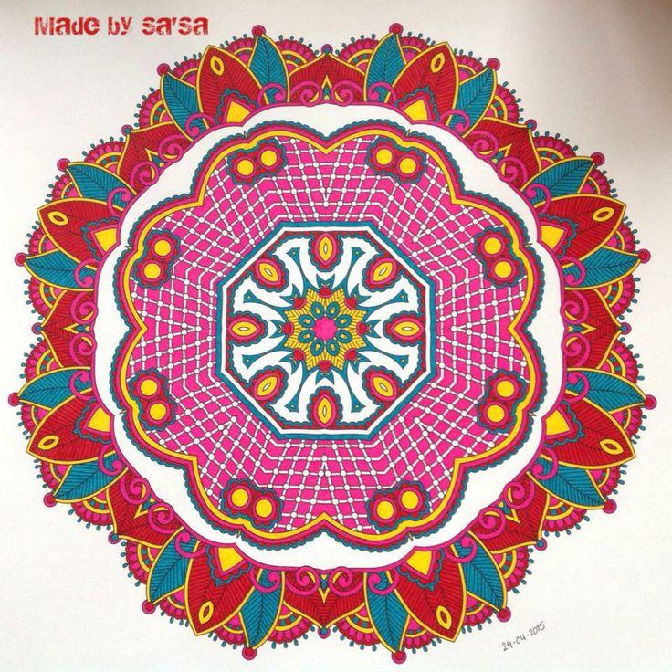 Het Enige Echte Mandala Kleurboek (deel 1) - Mandala nr. 2