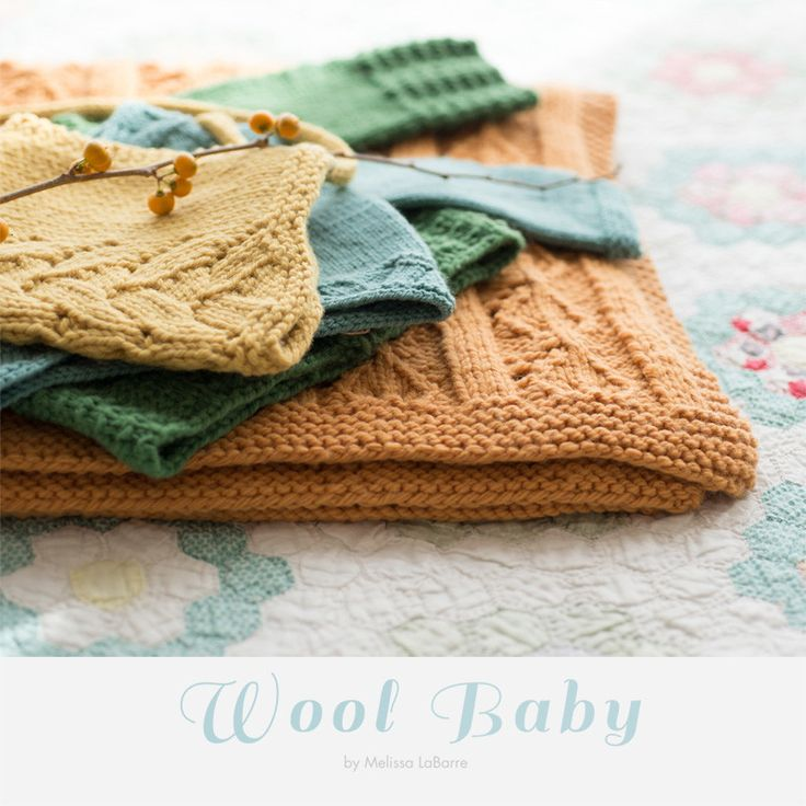 Do booklet da Quince and Co - Wool Baby