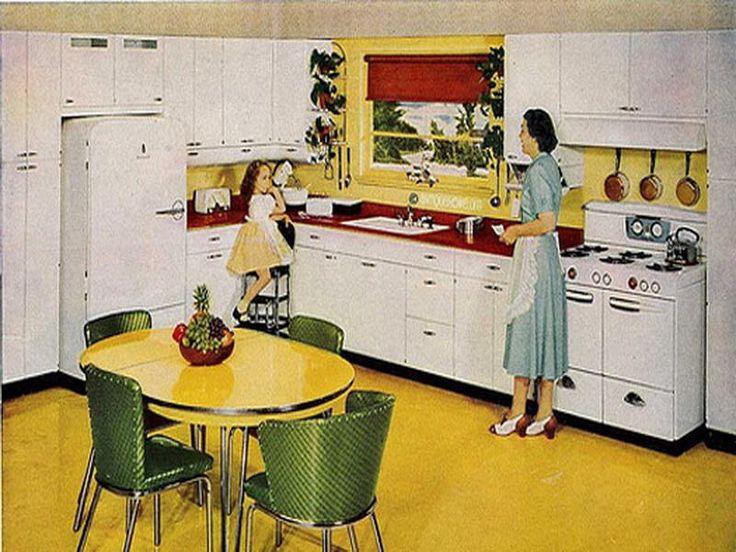 670 best retro kitchens images on pinterest | retro kitchens