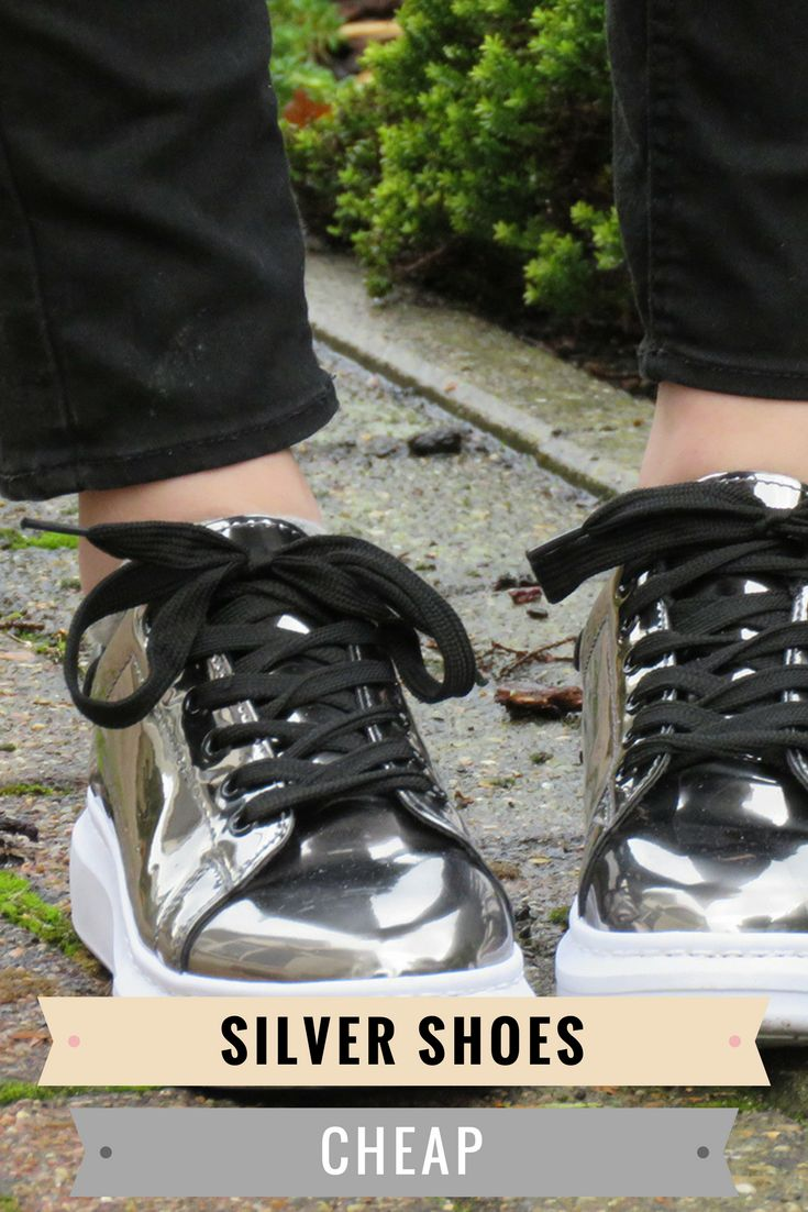 Do you love silver shoes as much as I do? These shoes are perfect for prom, a wedding or just a normal outfit. Check out this blog post for more information about these sneakers.