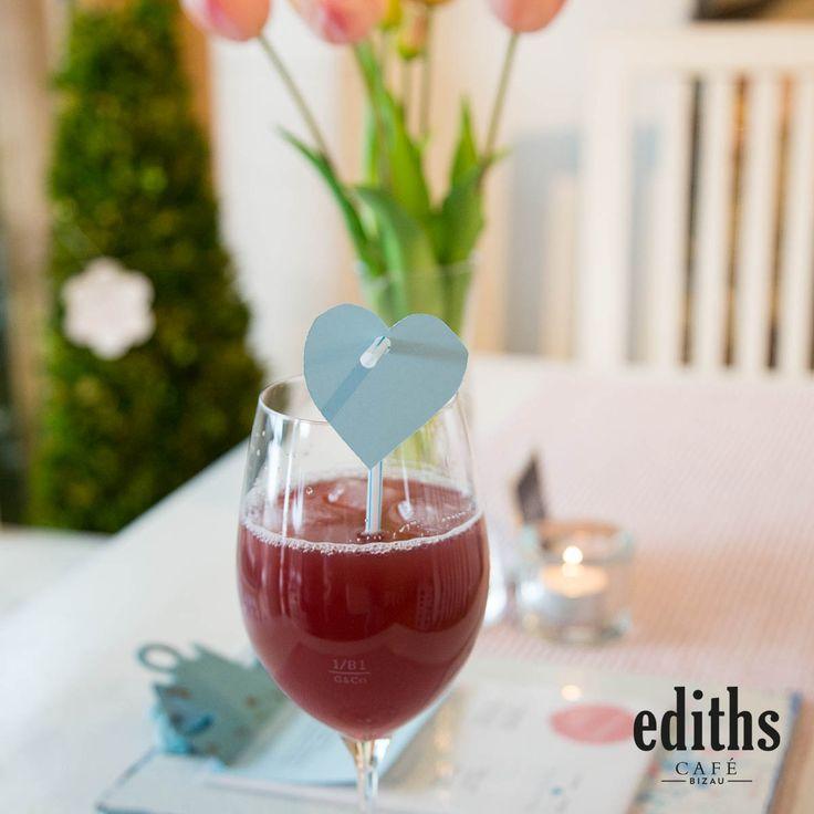 Unser lieber Christoph vom ediths Café in Bizau kreiert immer wieder neue leckere Getränke ♥️
