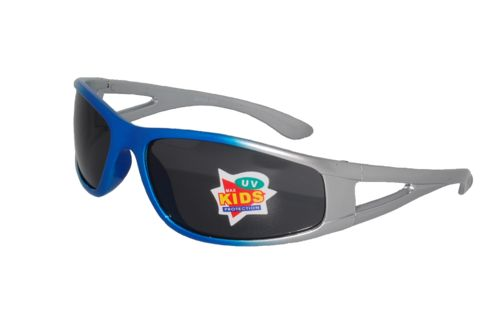Gator Sunglasses in Blue and Silver by KIDZ Sunglasses. #KIDZ #Sunglasses #BrightEyes #Australia