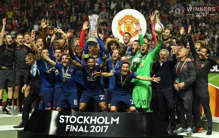Henrikh Mkhitaryan's Manchester United are UEFA Europe League champions!