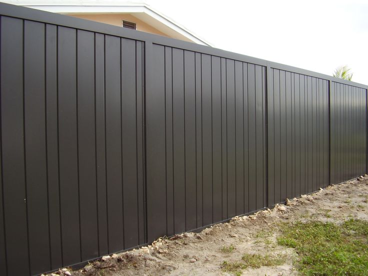 aluminum privacy fencing - Google Search