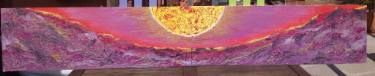 "Saatchi Art Artist Juan Pedrosa; Painting, ""OCASO GRAVITATORIO - GRAVITATORY OCCASION"" #art"