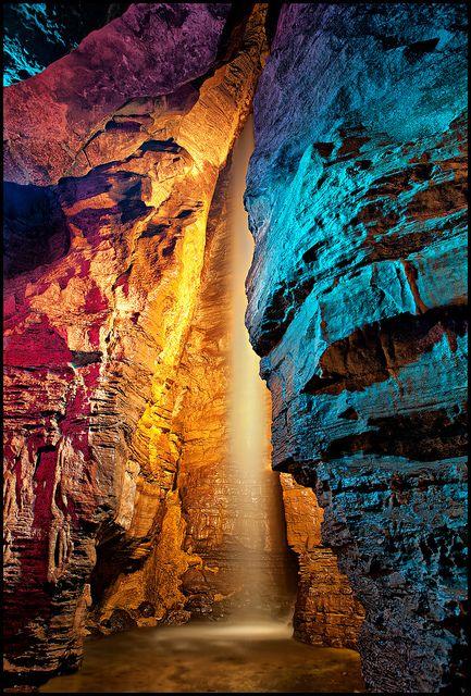 Secret Caverns Waterfall, Cobleskill, NY