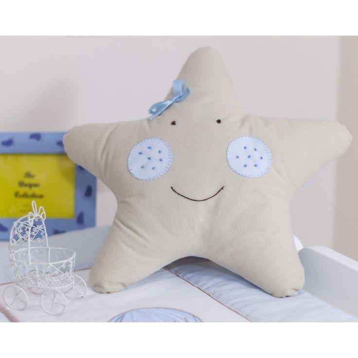 www.pudradecor.com Yıldız bebek odası dekoratif yastık / baby room decorating