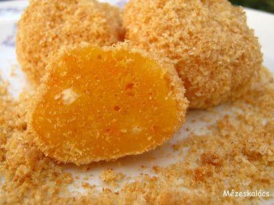 Mézeskalács konyha: Sütőtökös túrógombóc