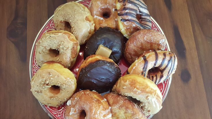 Handmade artisan donuts for brunch today! Not the way I usually start the day, but... http://www.sugardonuts.net/#!events/cff9