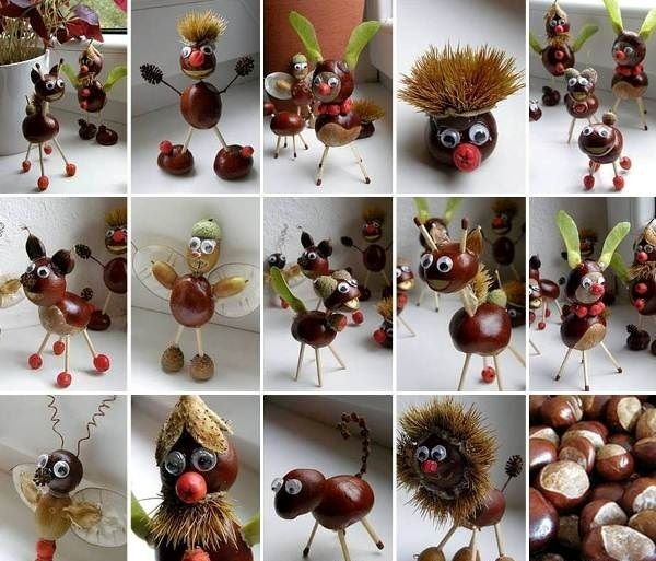Chestnuts Art - Your Kids Will Love It | www.prakticideas.com