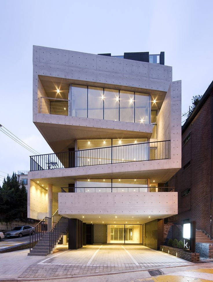Las 25 mejores ideas sobre edificios modernos en for Departamentos arquitectura moderna