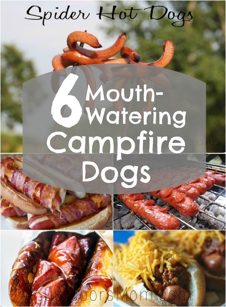 Make You Next Camping Trip Just A Little More Fun With These Simple Campfire Dog Recipes