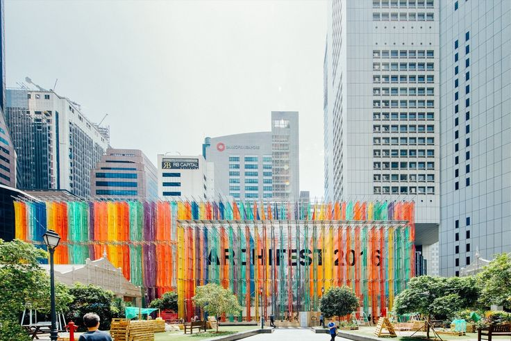 Gallery of Archifest 2016 Pavilion / DP Architects – 44