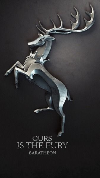 Game of thrones. Game of thrones. I have seen heaps of house sigil arts but these ones are by far the coolest. #Baratheon