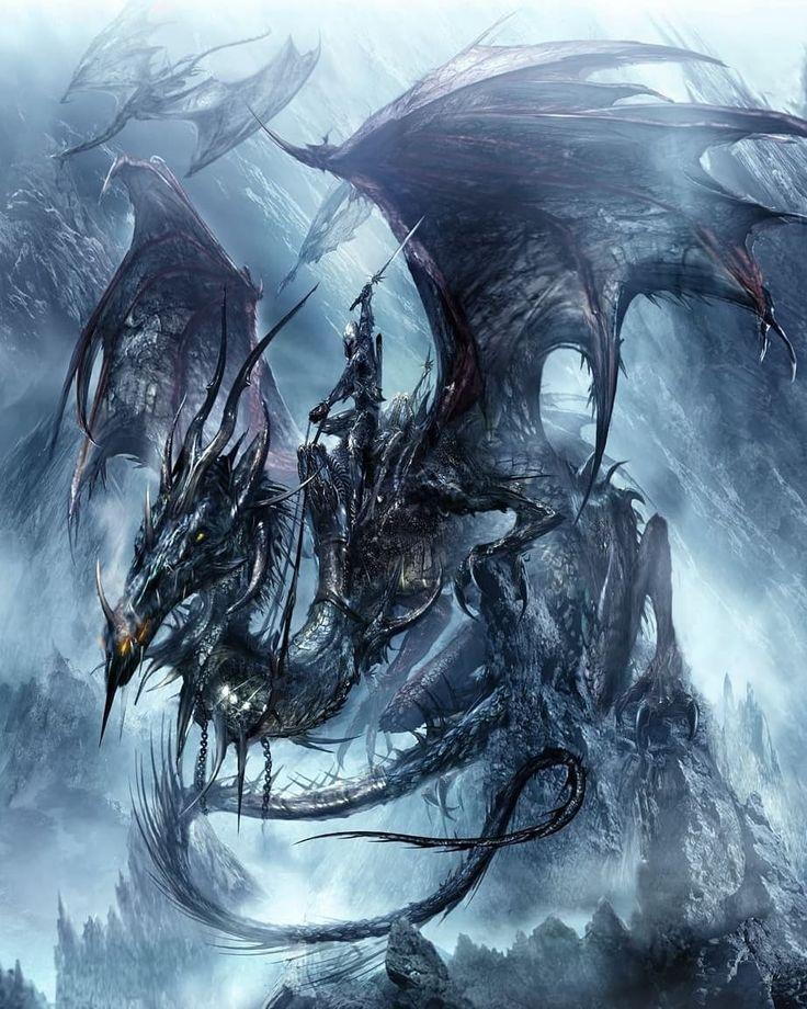 демонические драконы картинки важно