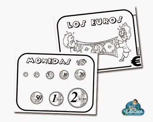 RECURSOS INFANTIL   El libro de los euros ~ La Eduteca