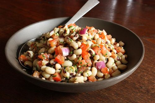 Spicy Black-Eyed Pea Salad-I'm making this for New Year's Day