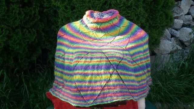 Happy Poncho, Multicolor, Warm by IMAGINARIUM2015 on Etsy