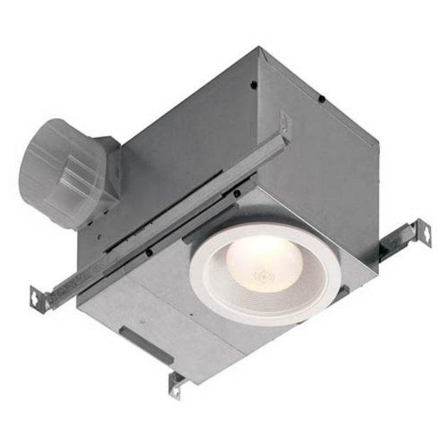 Broan Nutone 744fl Recessed Bathroom, Menards Bathroom Light Fan