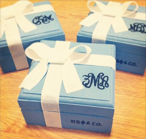 tiffany pin boxes xoxo ➹