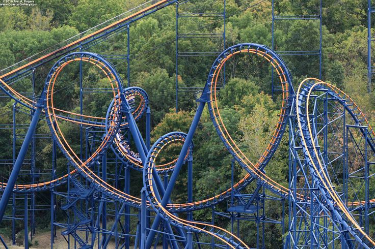 Vortex Roller Coaster at King's Island just outside Cincinnati, Ohio.  So much fun