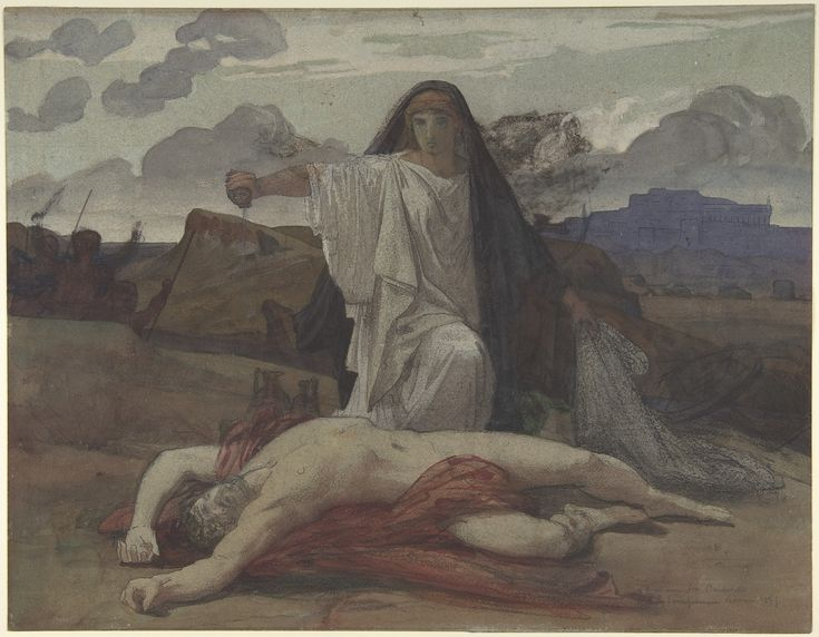 a comparison of creone and antigone in greek mythology Antigone, moved by love for her brother and convinced of the injustice of  greek mythology, body of stories concerning the gods, heroes,.