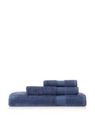 Nine Space Milo's Bath Towel Set (Navy)
