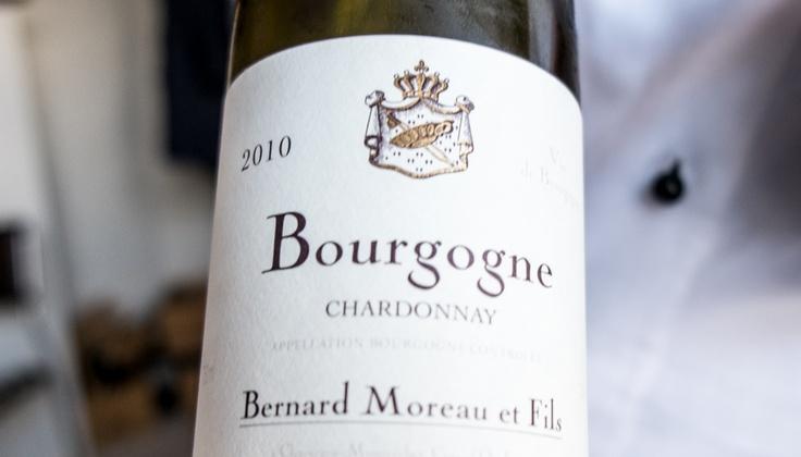 Chardonnay 2010 fra Bernard Moreau på Miró
